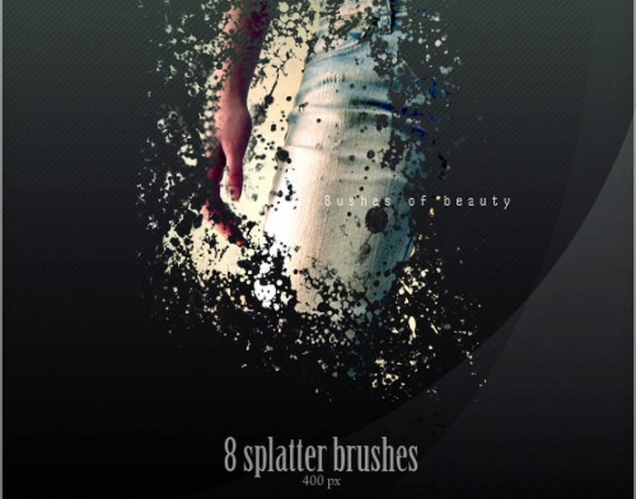 T8 Splatter Brushes