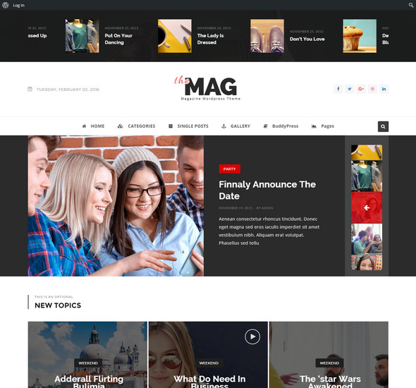 TheMag - WordPress Magazine Theme