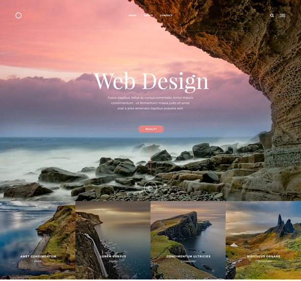 Web Design - Free PSD