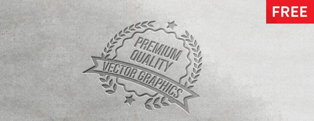 Free Logo PSD Mock-Ups