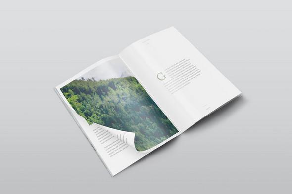 Free A4 PSD Magazine Mockup
