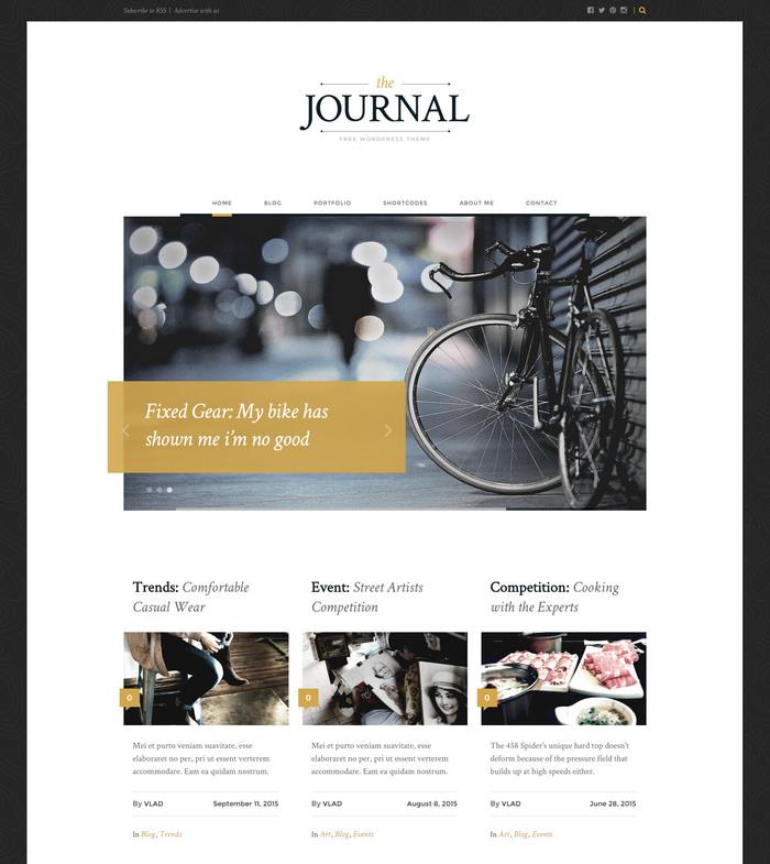 Free Magazine WordPress Theme download