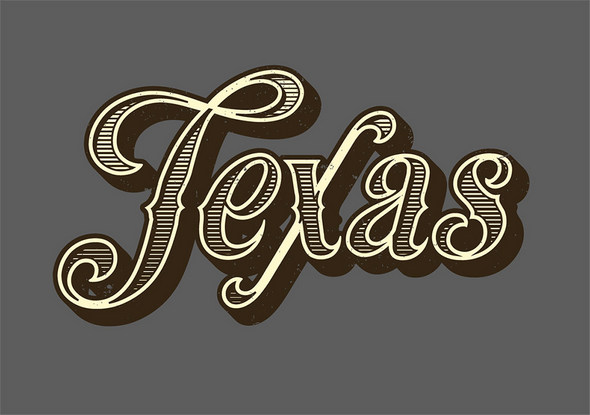 How To Create a Vintage Text Effect