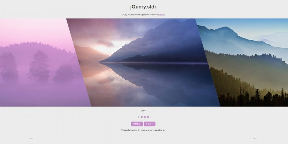 30 Free Responsive jQuery Image Sliders and Slideshows