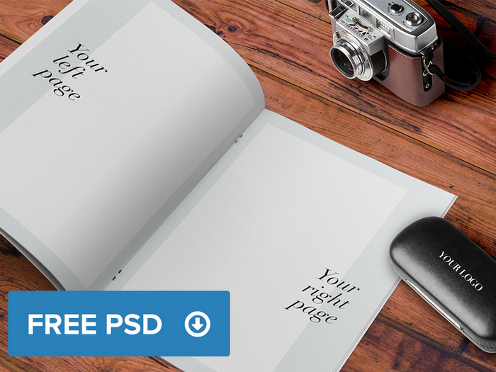 Brochure - Magazine A4 Mockup