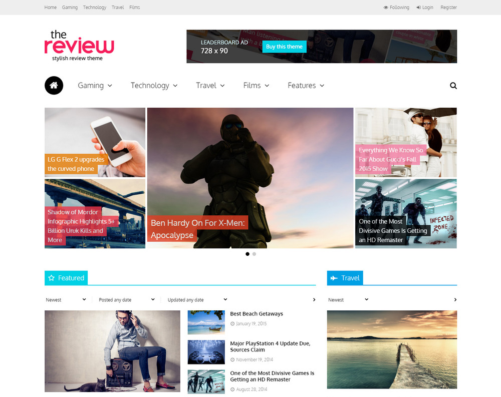 The Review - Multi-Purpose WordPress Theme