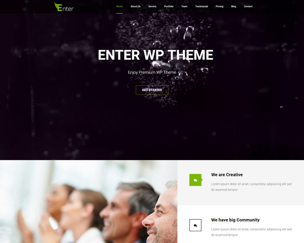 free business Premium WP Theme