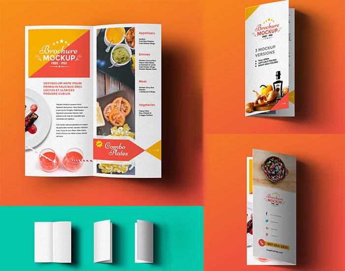 free-bi-fold-brochure-mockup