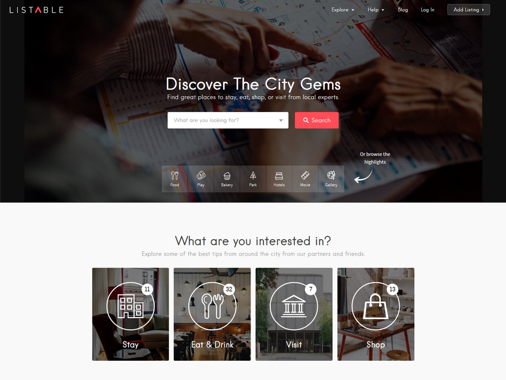 listable wordpress travel theme like airbnb