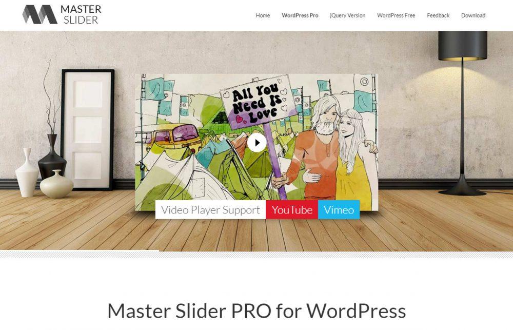 master slider pro - wp slider