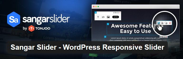 sangar free wordpress slider