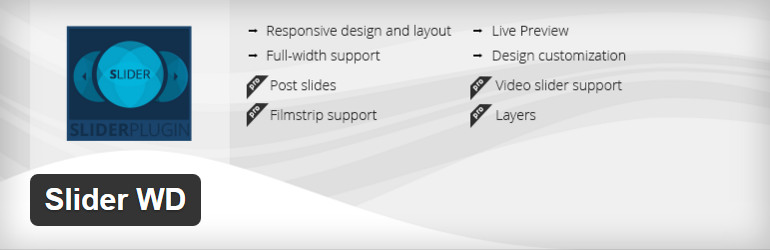 free wordpress slider plugin - slider wd