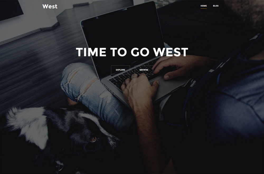 west small business theme