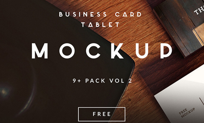 9 BUSINESS CARDS MOCKUPS
