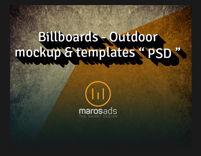 Free PSD Download Billboards & Outdoor Mockup