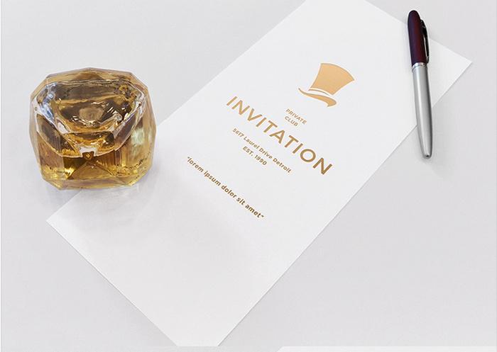 Invitation Mockup