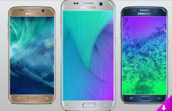 Samsung Galaxy S7 Silver Mockupjpg