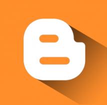 free flat blogger icon