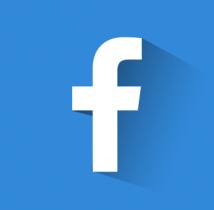free flat facebook icon