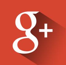 free flat google+ icon