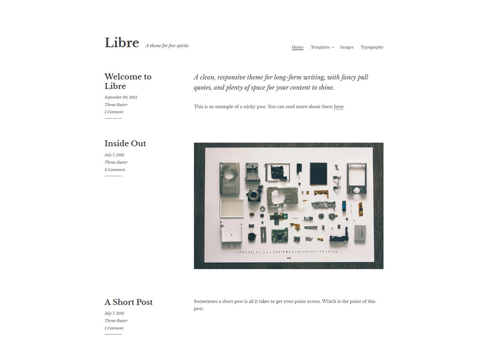 clean, responsive theme for long-form writing