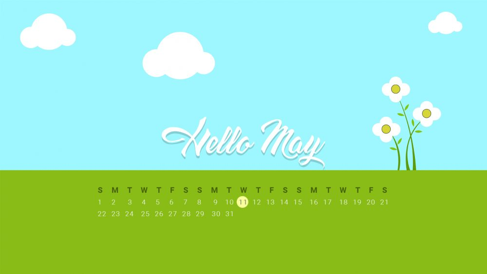 may 2016 calendar for desktop wallpaper