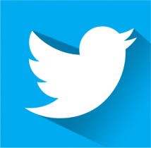 free flat twitter icon