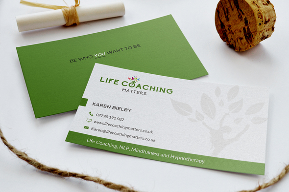 Lifecoach business card
