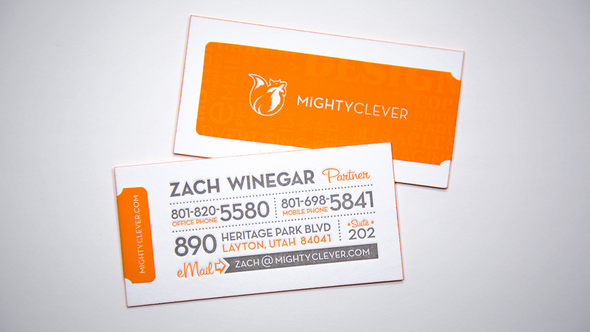 Mighty Clever ID-card design