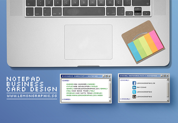 Notepad-programmer-business-card-design