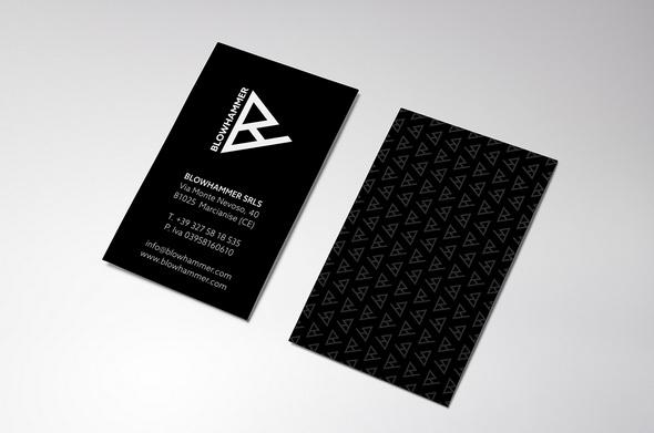 Blowhammer card design