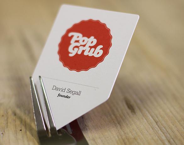 die cut Card design
