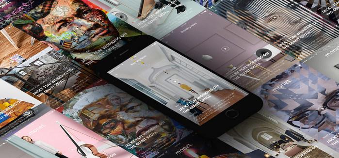 Monet, a free mobile UI kit