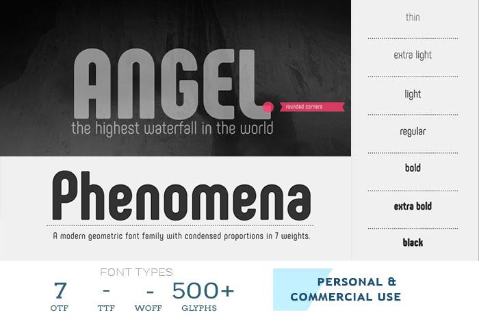 Phenomena best font