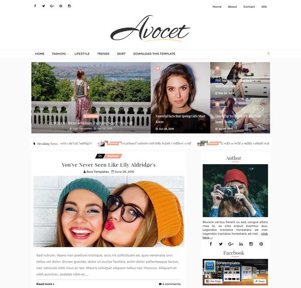 avocet blogger blog