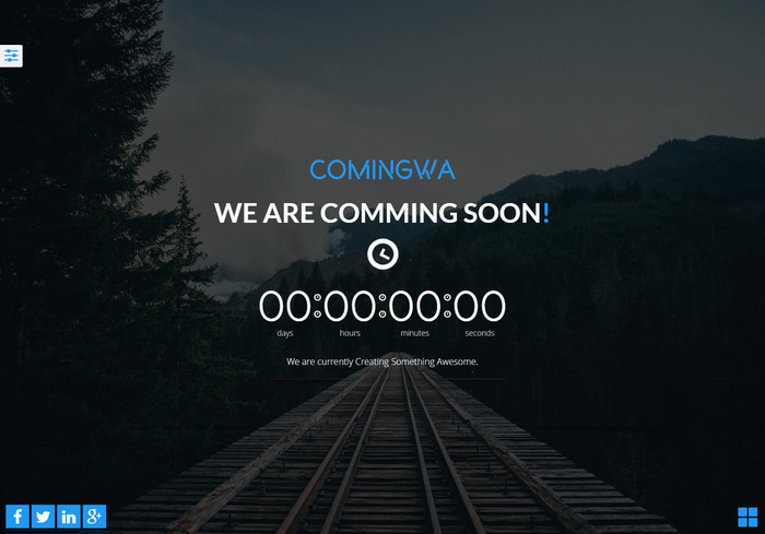 comingwa free template under construction