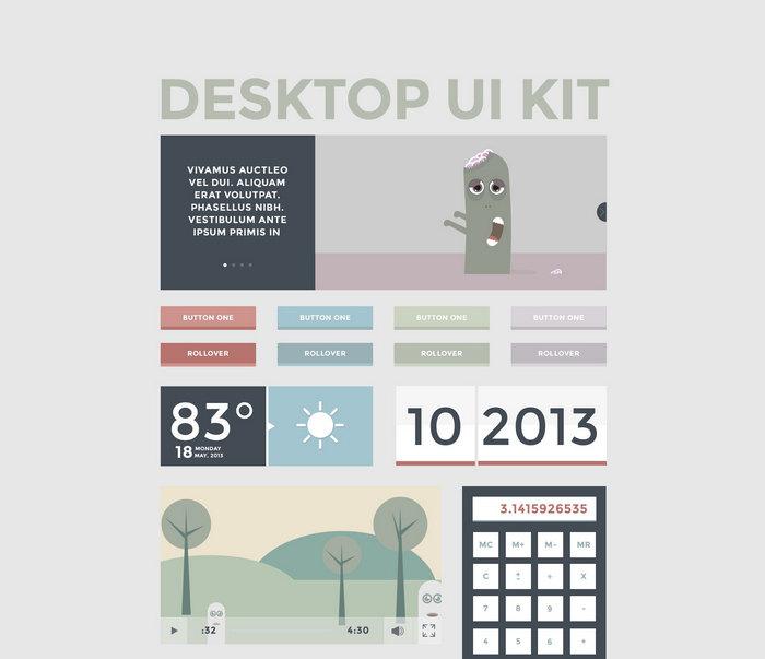 free windows app ui kit