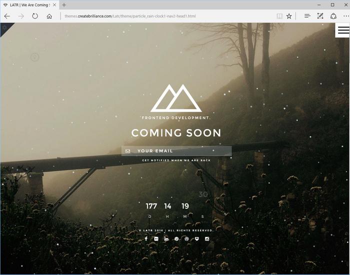 LATR - Ultimate under construction html file