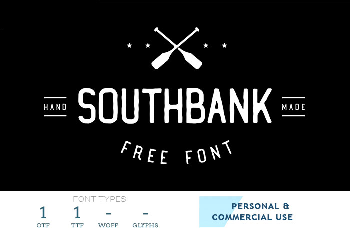 southbank free professional font