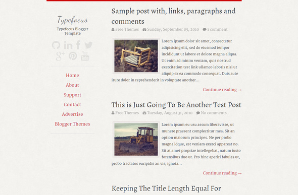 65 best free responsive blogger templates 2018 for Design your own blogger template free