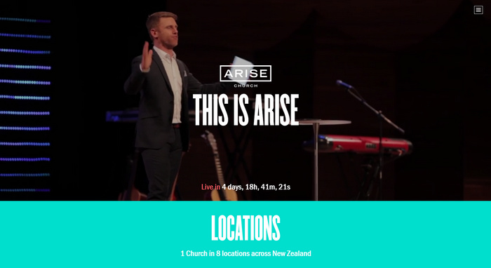 20+ Amazing Church Website Designs from all over the world