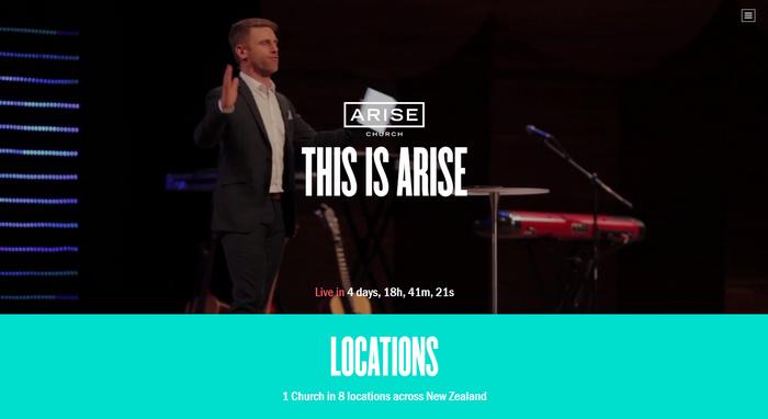 arise church events