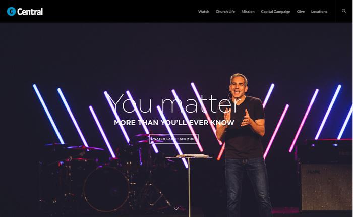 central church - an amazing website