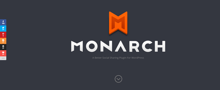 monarch wordpress social sharing plugin