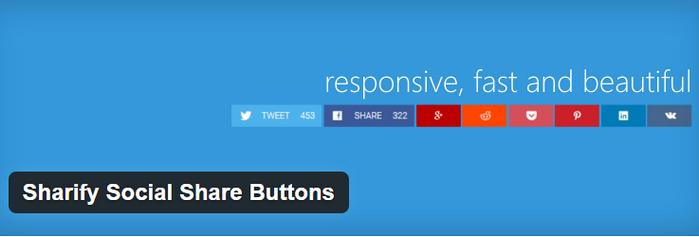 sharify plugin for wordpress