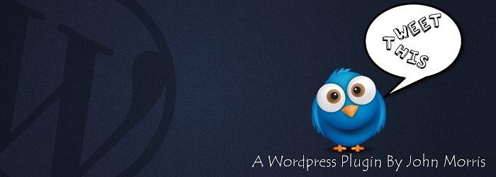 Tweet This wordpress shortcode
