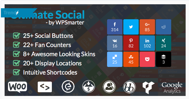 ultimate social sharing plugin