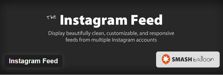 responsive feeds from multiple Instagram accounts