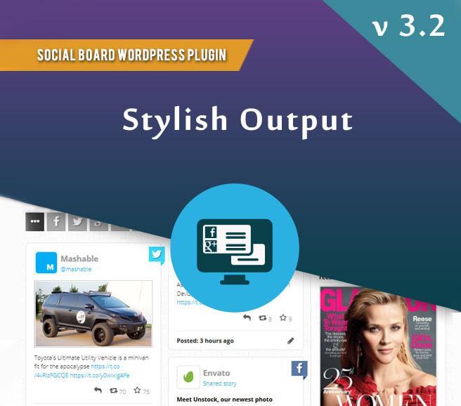 WordPress Social Board plugin