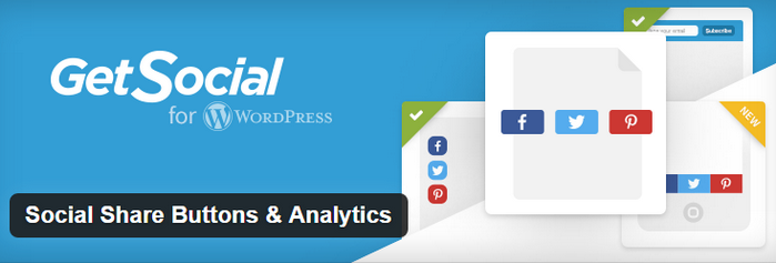 Social Share Buttons & Analytics